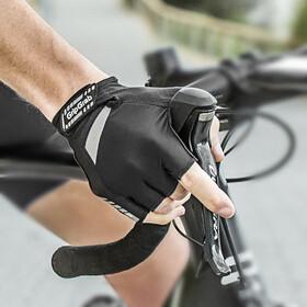 GripGrab SuperGel Gepolsterte Kurzfinger-Handschuhe black